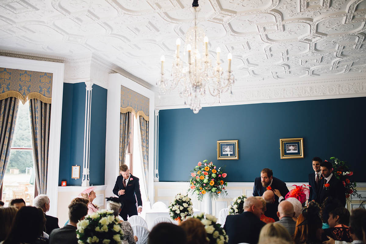 Oakley Hall Wedding - Ceremony Room
