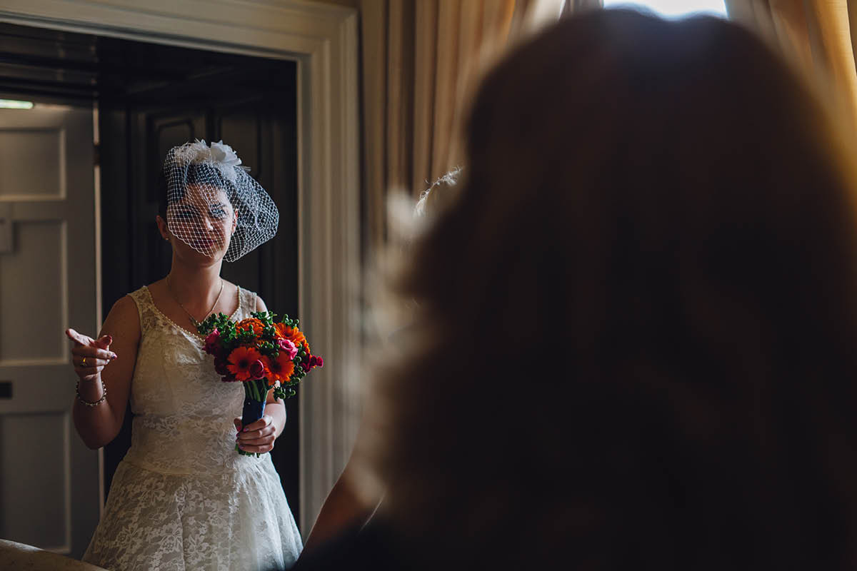 Oakley Hall Wedding - Bride