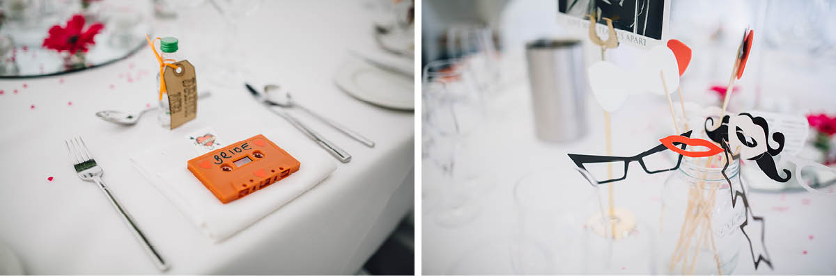 Oakley Hall Wedding - Wedding Breakfast Details