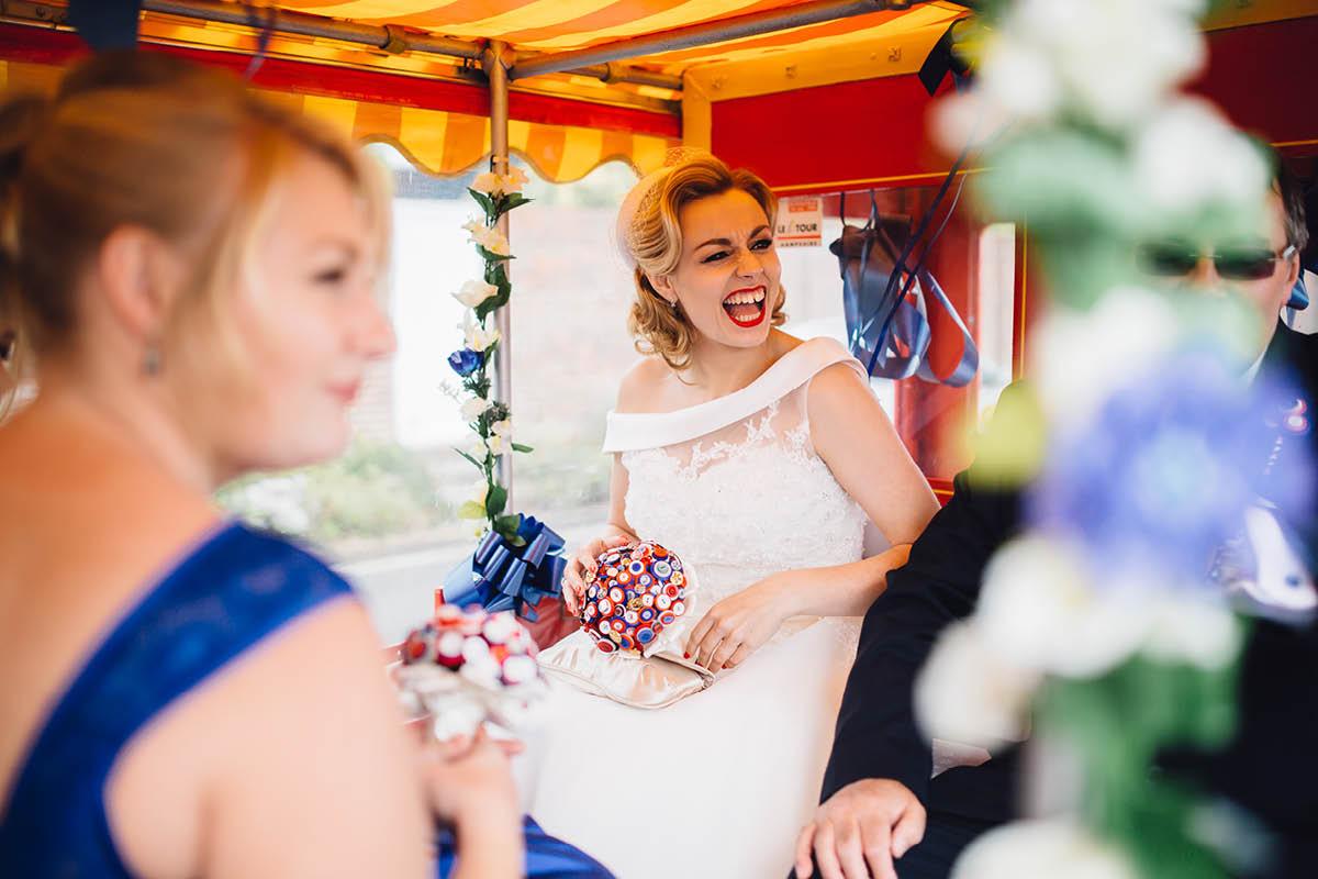 Southsea Wedding Photographer Land train