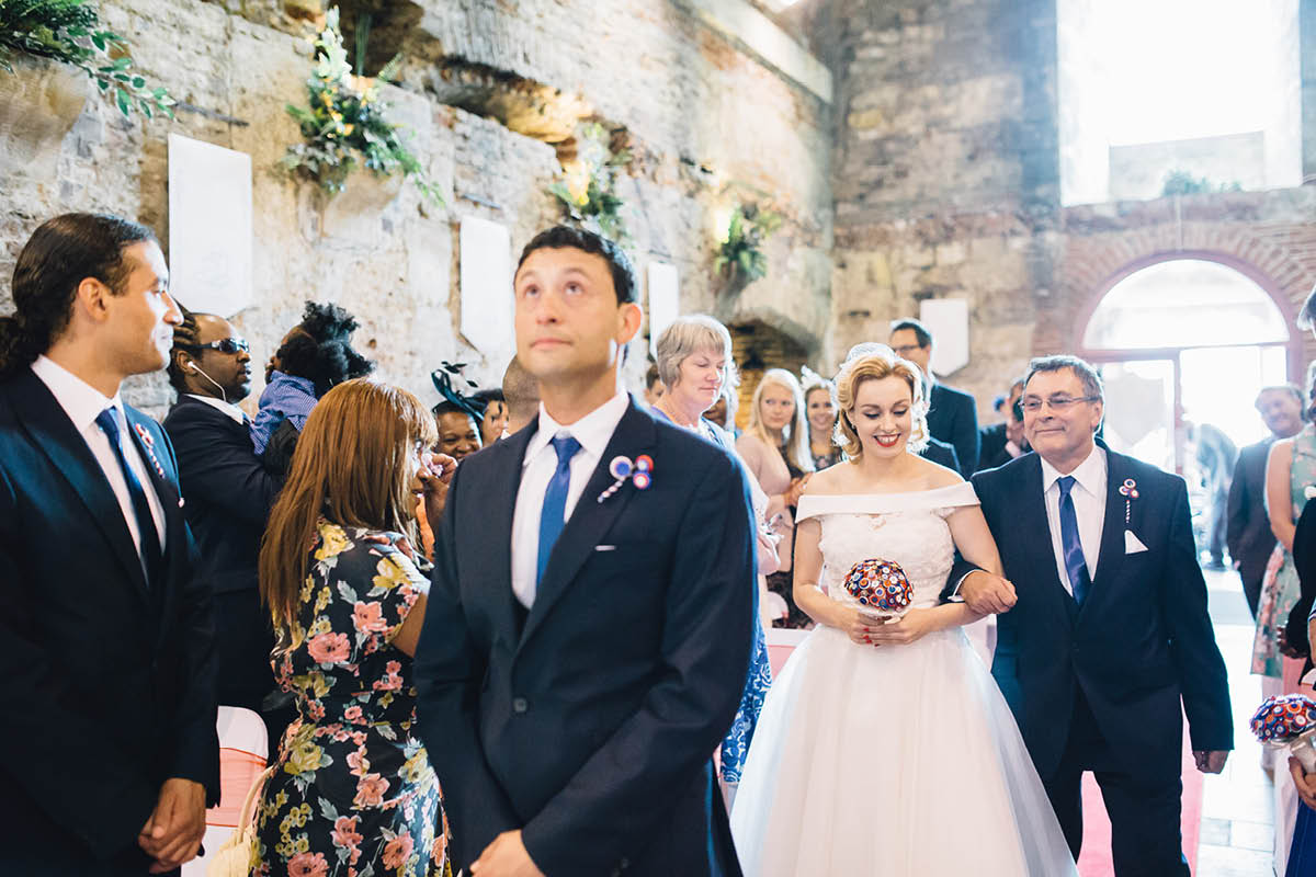 Southsea Wedding Photographer Arrival