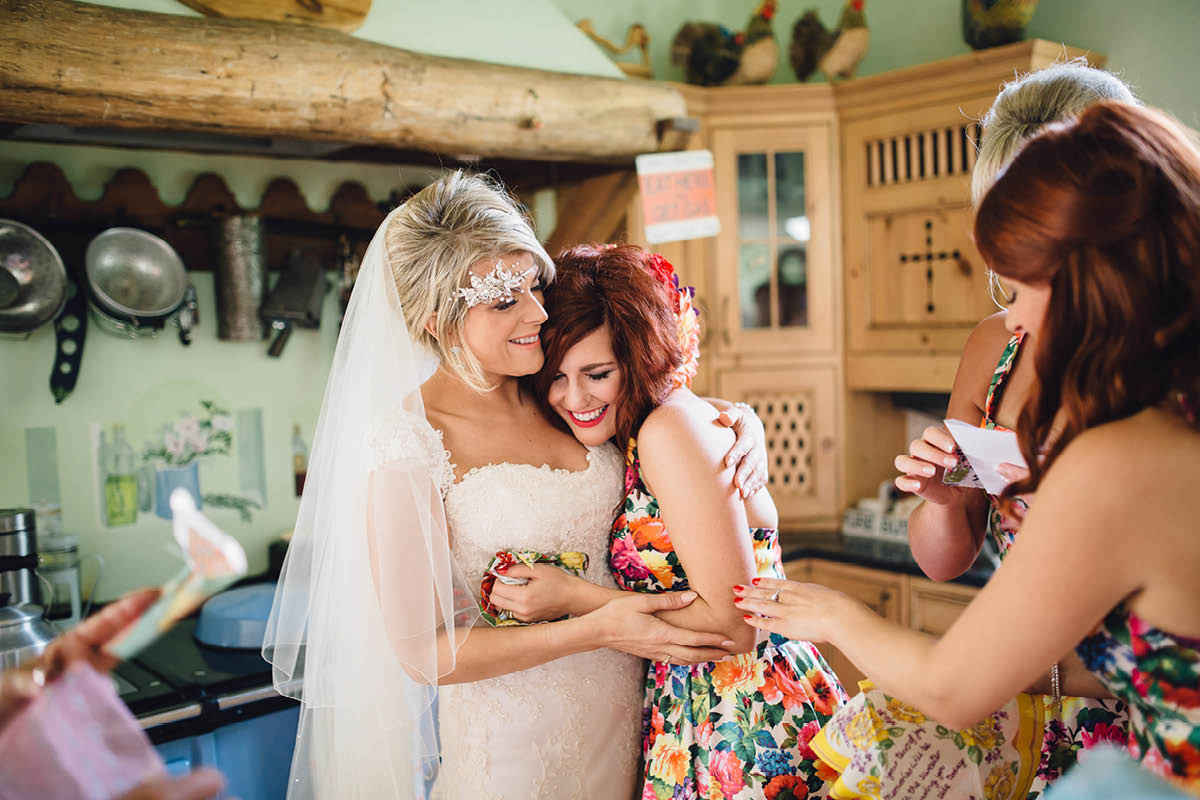 Burley Wedding Photographer Sisterly Love