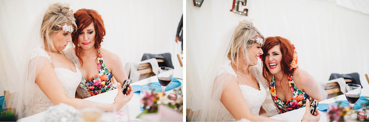 Burley Wedding Photographer - Ugly Face Selfies