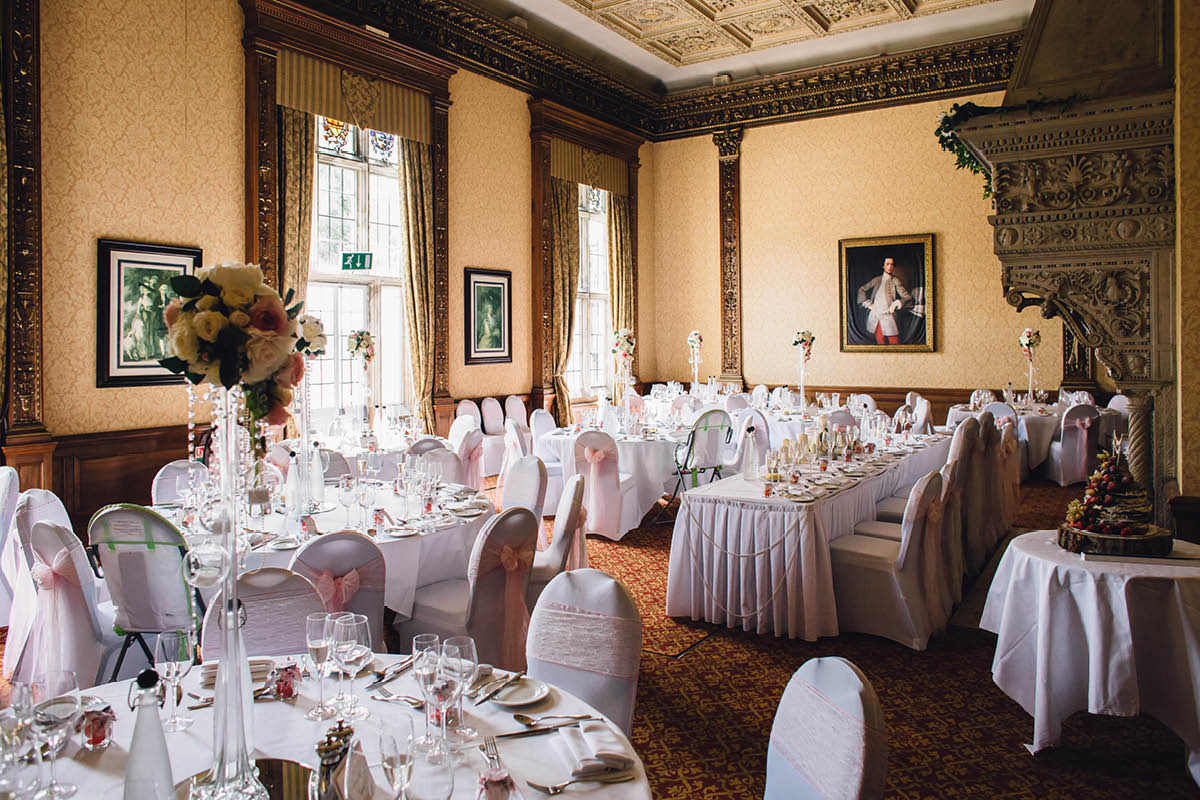 Elmers Court Wedding Reception Room
