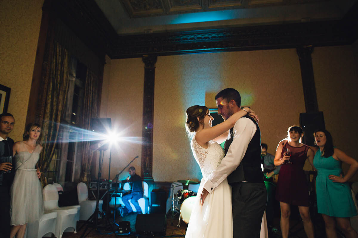 Elmers Court Wedding first dance