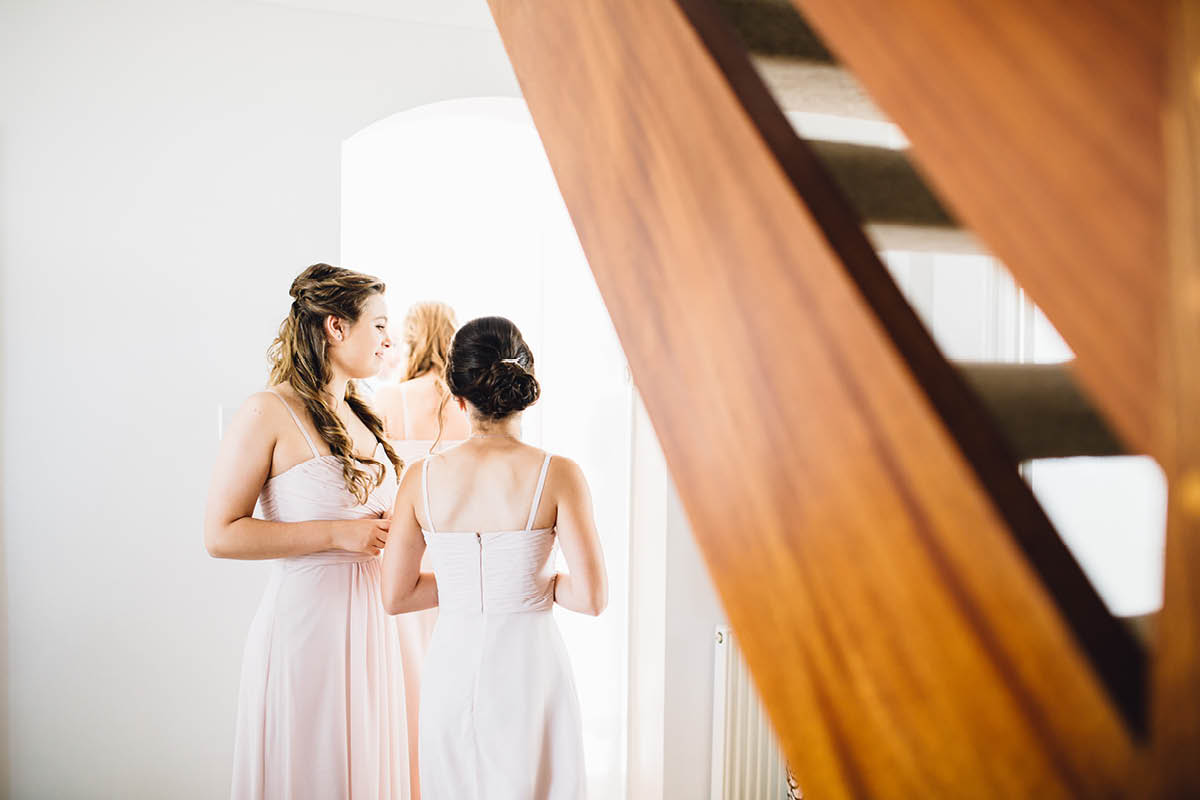 Elmers Court Wedding Bridesmaids