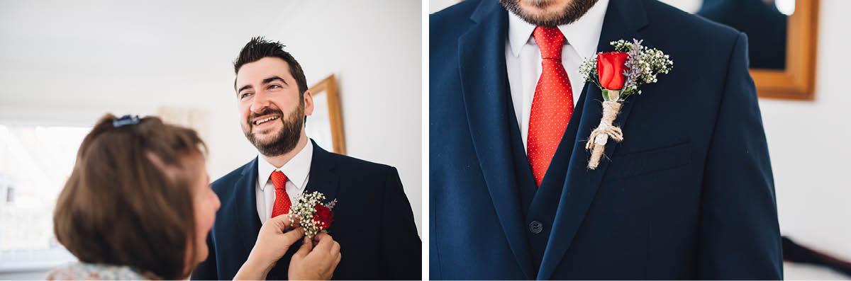 Festival Wedding Photographer - Grooms Details