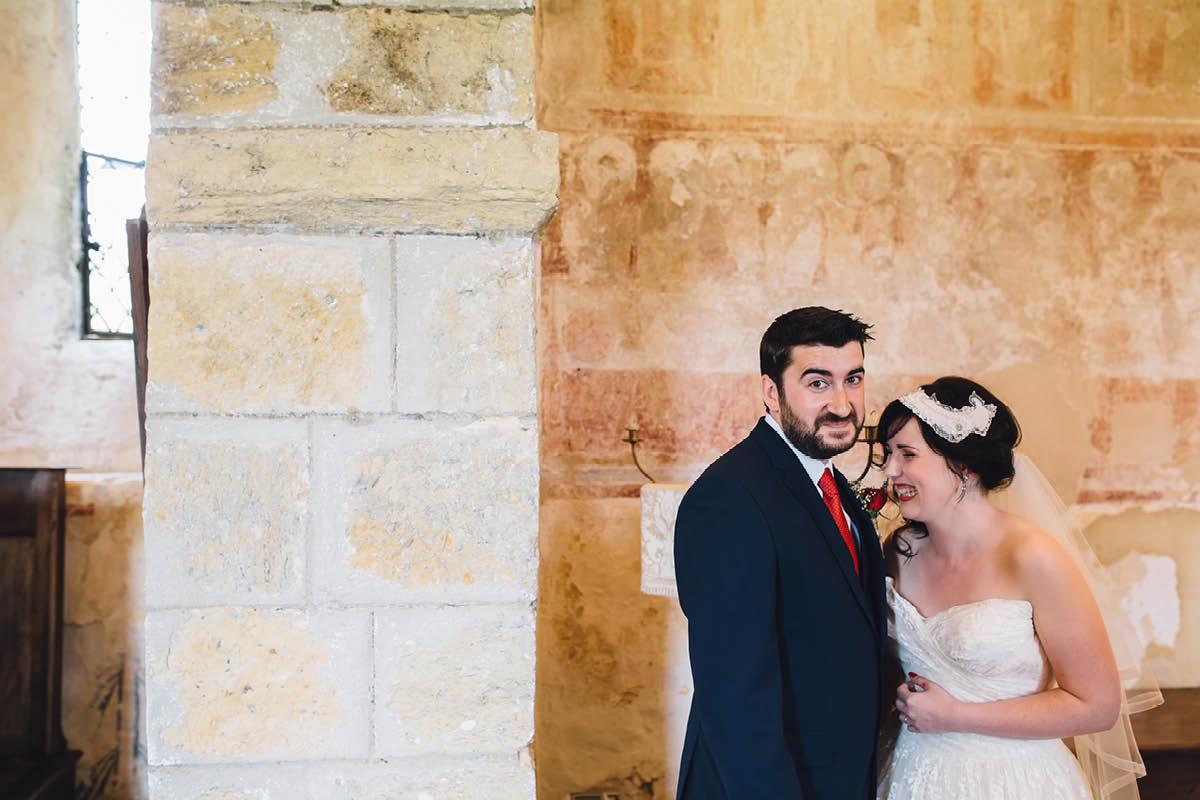 Festival Wedding Photographer - Signing Fun