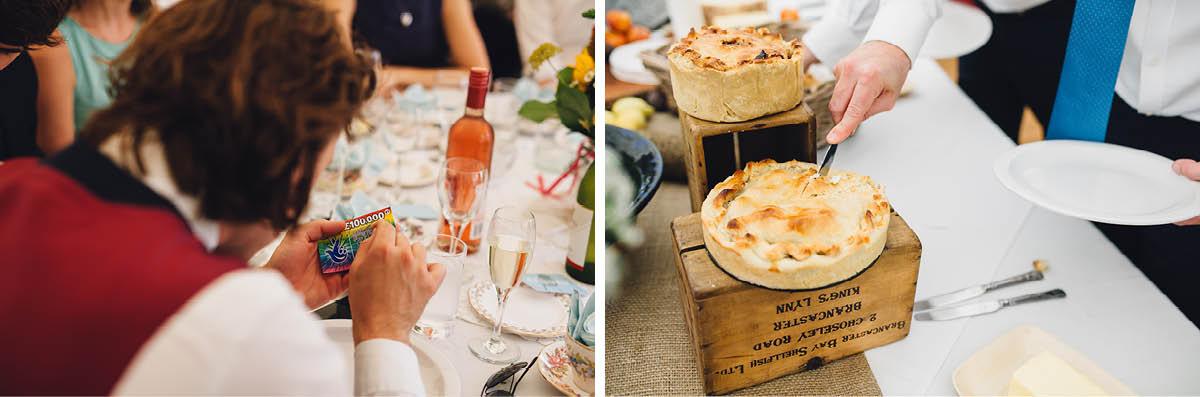 Festival Wedding Photographer - Wedding Breakfast