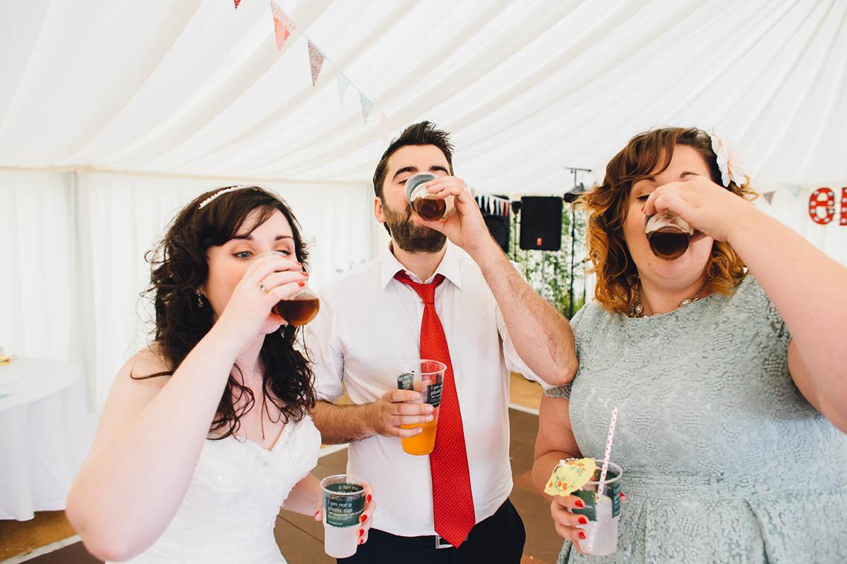 Festival Wedding Photographer - Jaggerbombs
