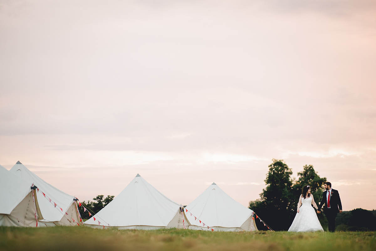 Festival Wedding Photographer - Sunset