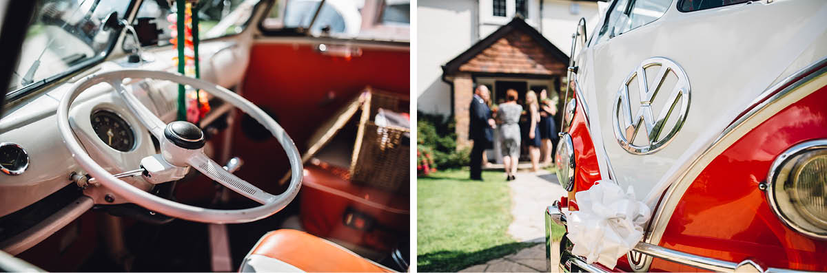 Parley Manor Wedding - VW camper