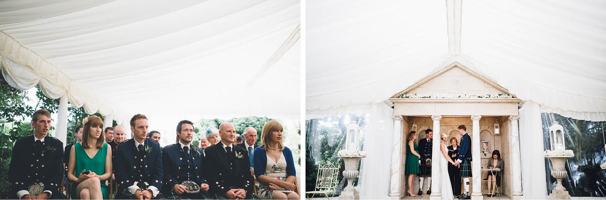 Parley Manor Wedding - Ceremony