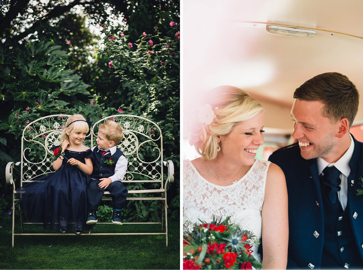 Parley Manor Wedding - Love in the Gardens