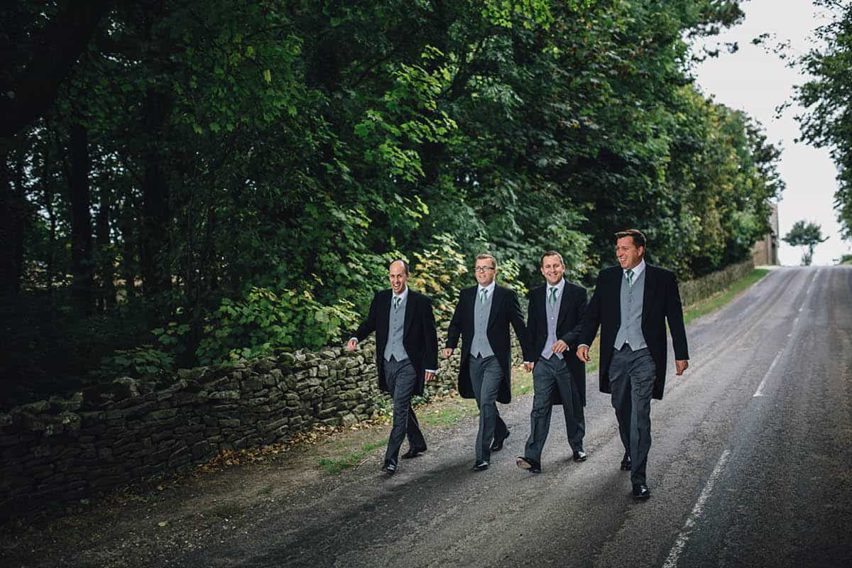 Kingston Country Courtyard Wedding Photographer - Groomsmen