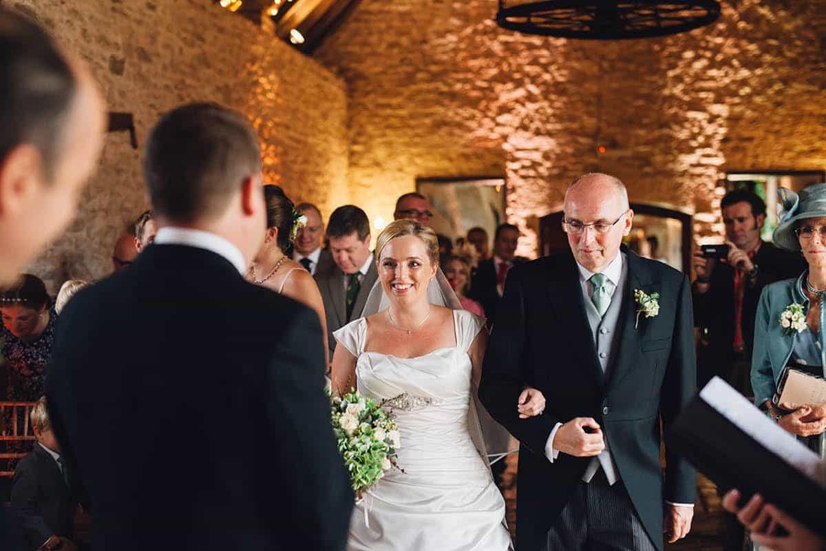 Kingston Country Courtyard Wedding Photographer - Ceremony