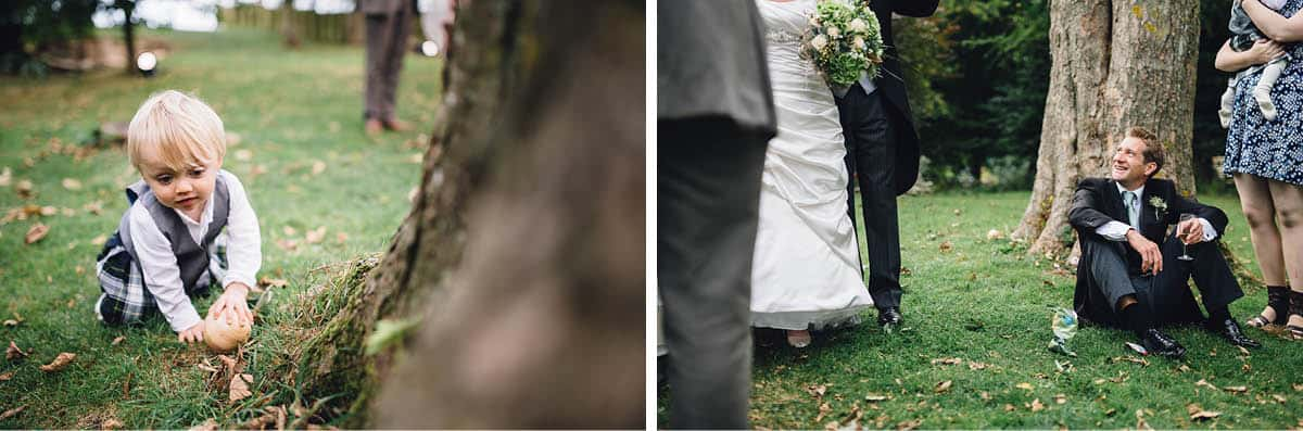 Kingston Country Courtyard Wedding Photographer - Chilling