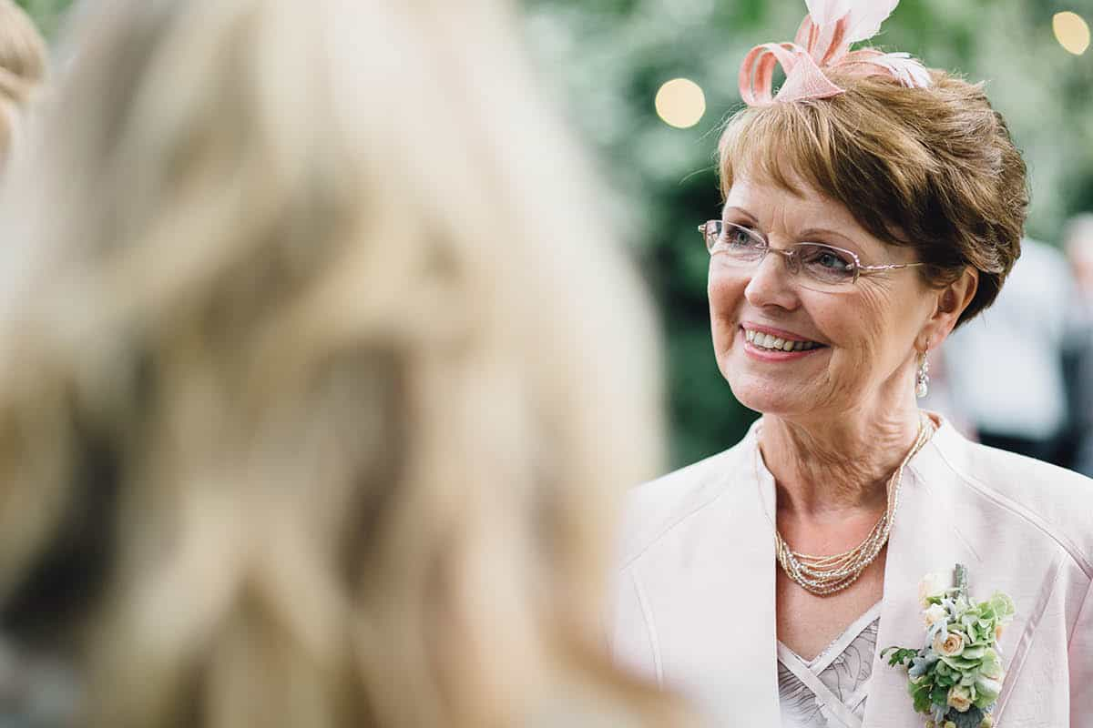 Kingston Country Courtyard Wedding Photographer - Mother of the Bride