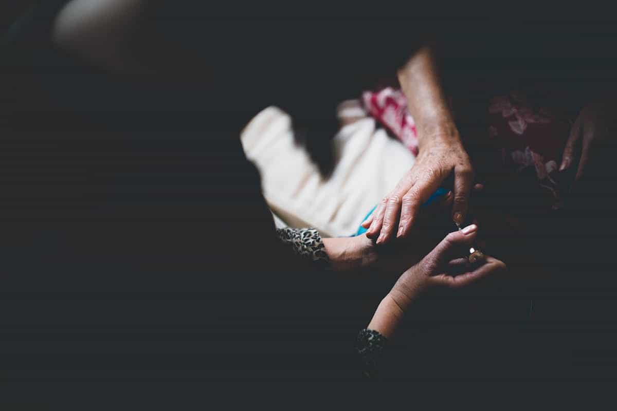 Kingston Country Courtyard Wedding Photographer - Nails
