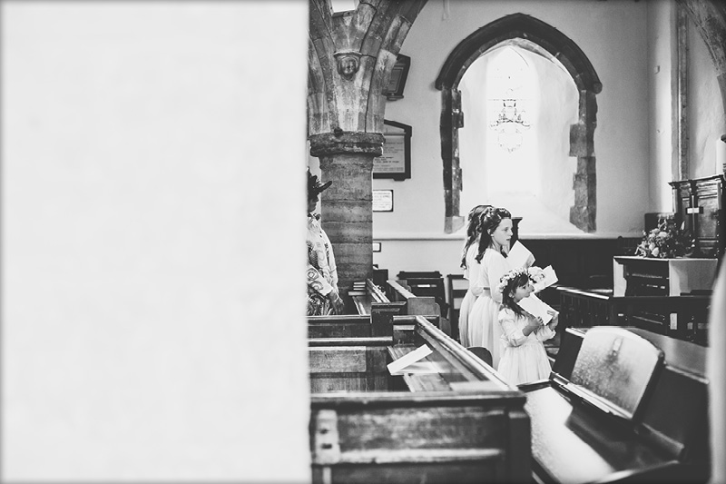 Boldre Church Wedding