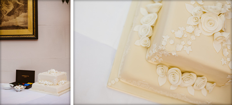 Stanwell House Wedding Cake