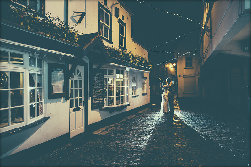 Lymington Wedding Couple