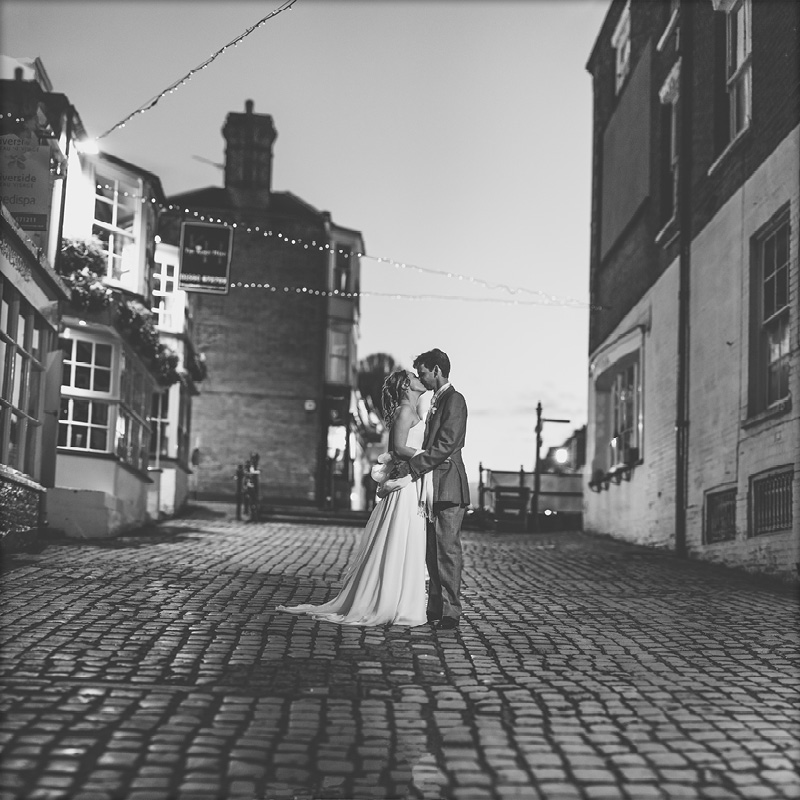Lymington Cobbles Wedding Portraits