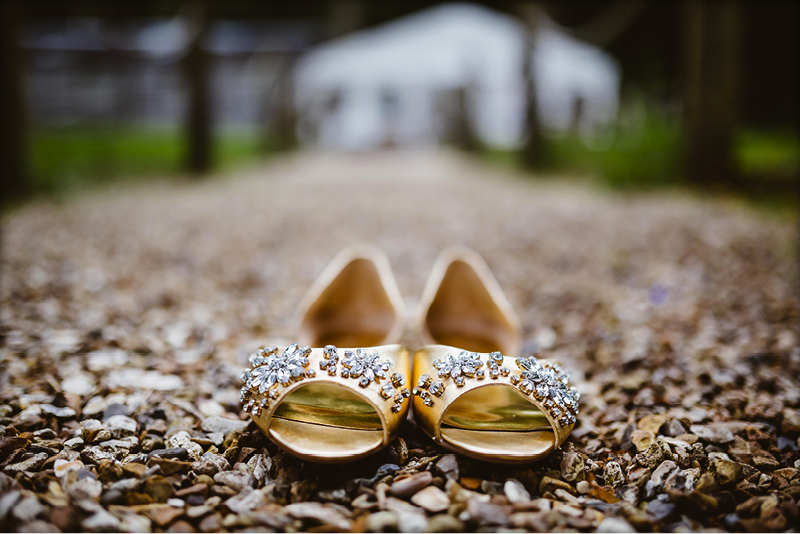 Sparkly Wedding SHoes
