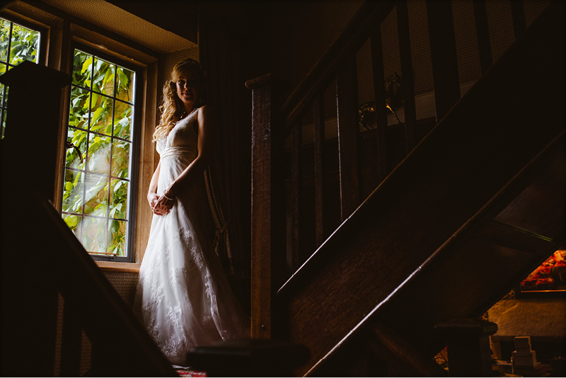 Kingscote Barn Bride