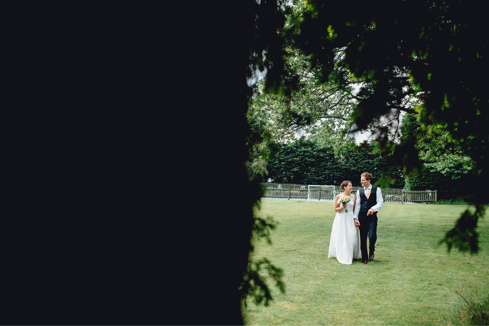 New Park Hotel Wedding Couple