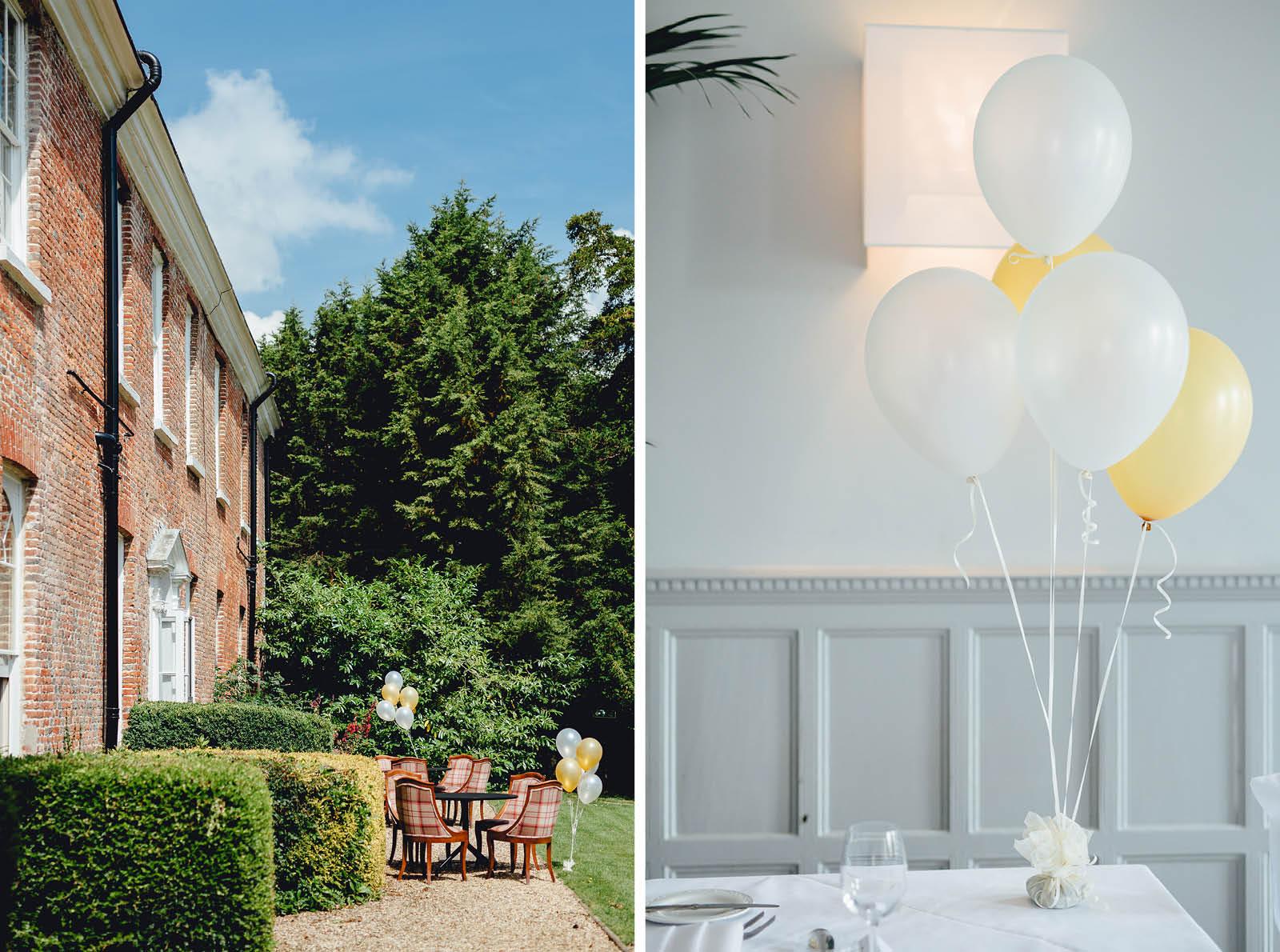 New Park Manor Hotel wedding details hampshire