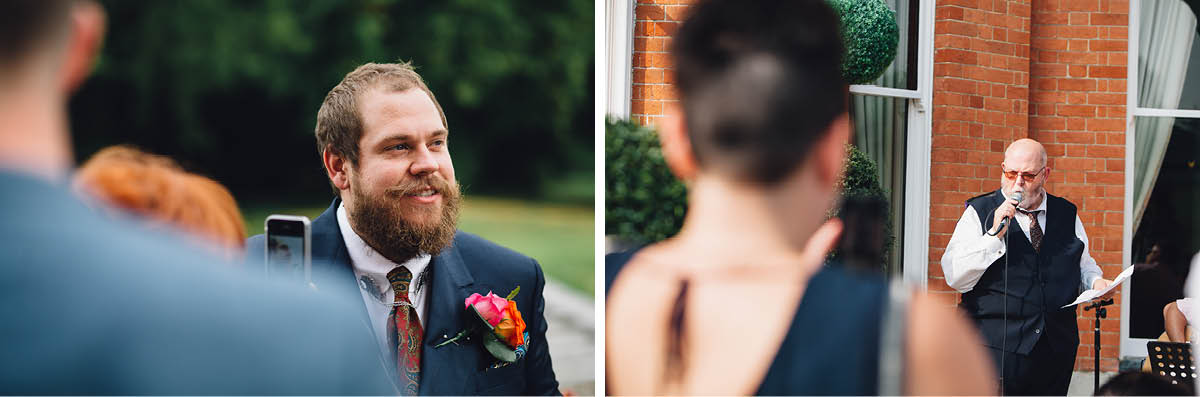 Oakley Hall Wedding - Drinks Reception
