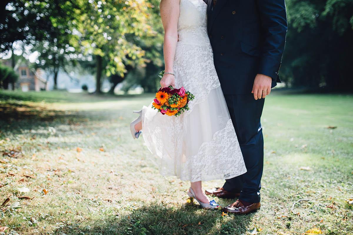 Oakley Hall Wedding - Wedding Couple