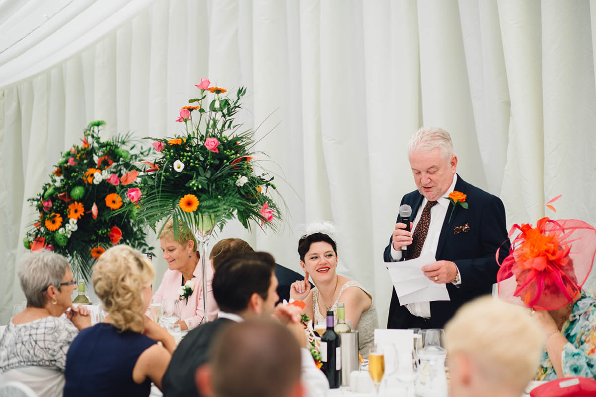 Oakley Hall Wedding - Speeches