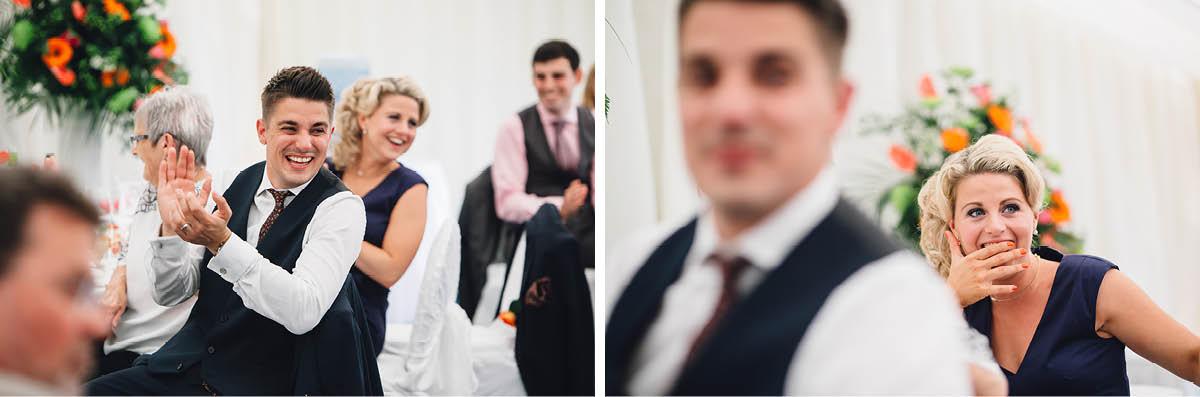 Oakley Hall Wedding - Speeches