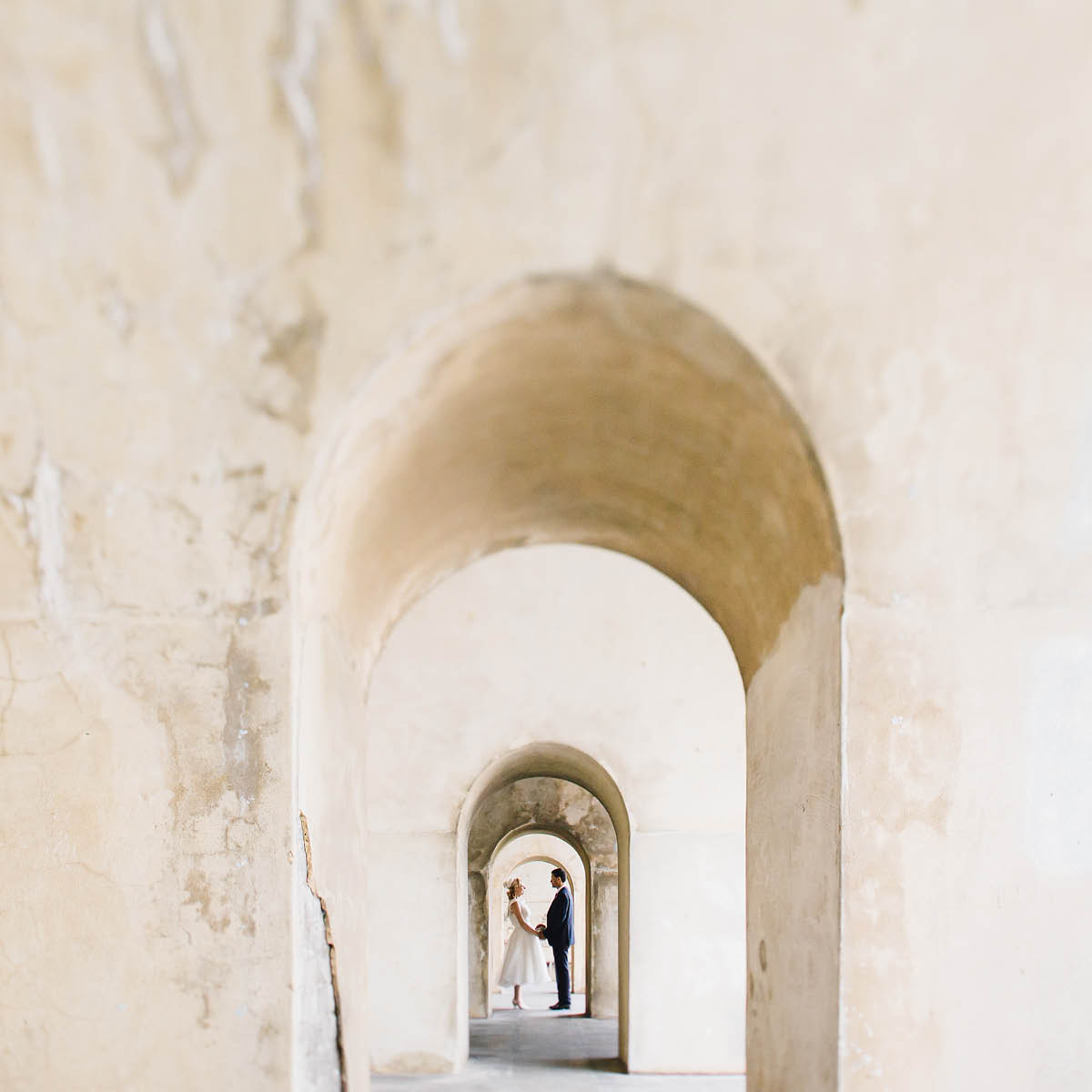 Square Tower Wedding Photography - Southsea Arches