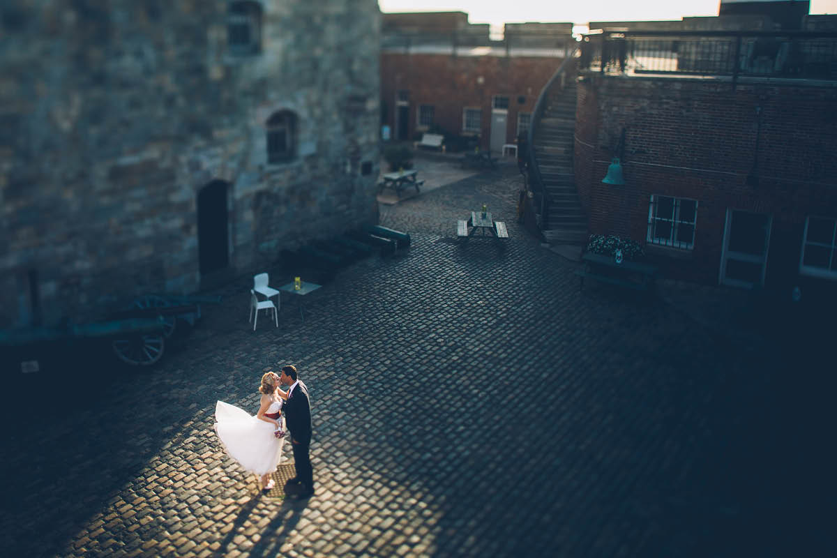 Southsea Castle Wedding Photography