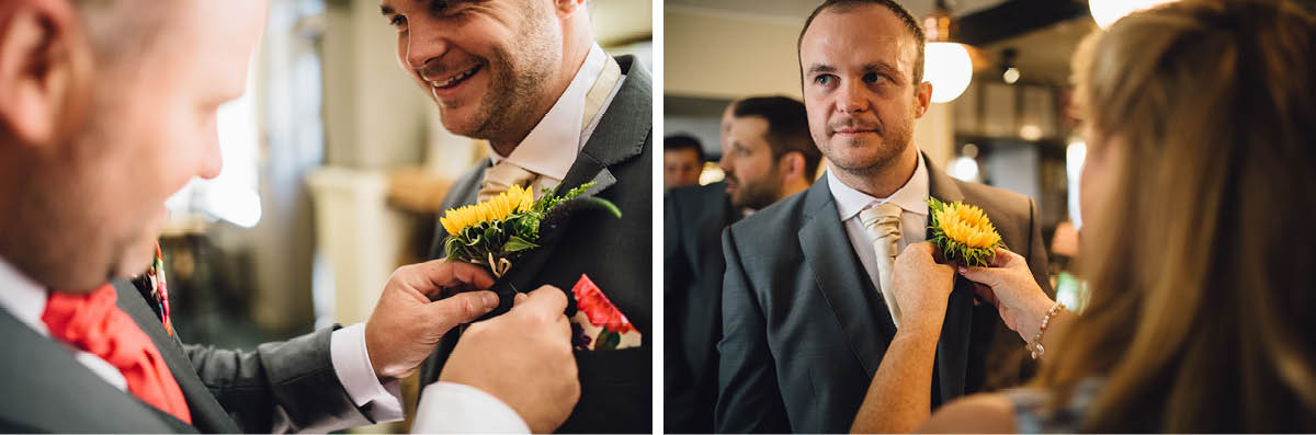 Burley Wedding Photographer Groom