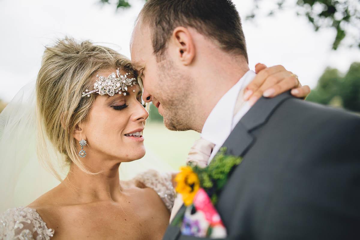 Burley Wedding Photographer Bride and Groom