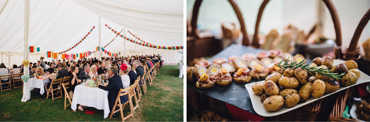 Burley Wedding Photographer - Wedding Breakfast Details