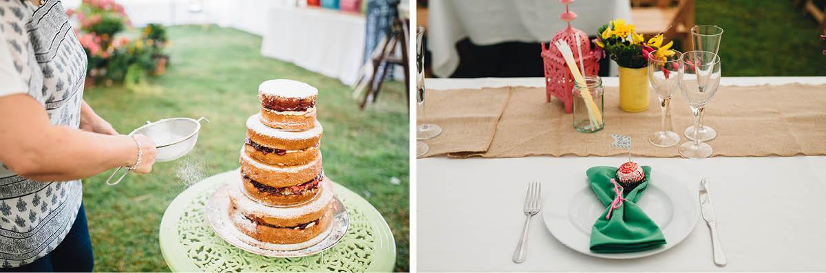 Burley Wedding Photographer Wedding Cake