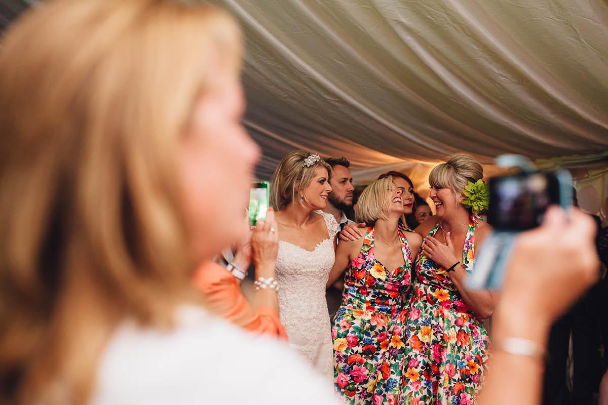 Burley Wedding Photographer - Bridesmaid Love