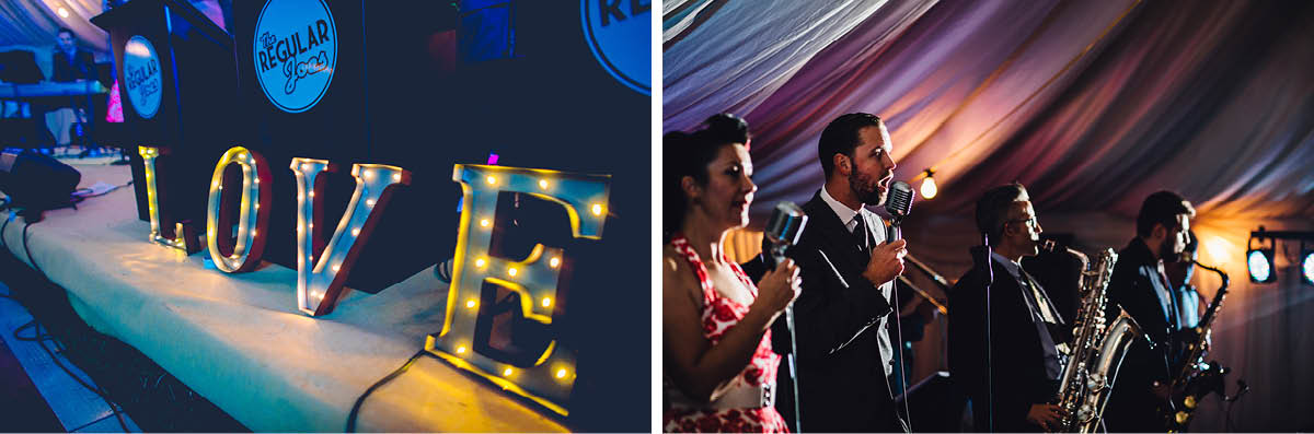 Burley Wedding Photographer - Wedding Band