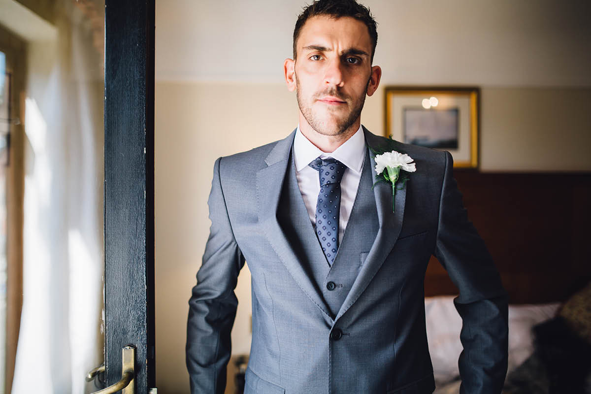 Elmers Court Wedding Groom