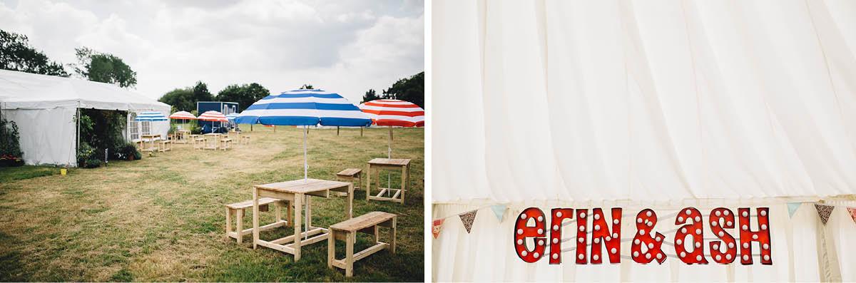 Festival Wedding Photographer - Wedding Details