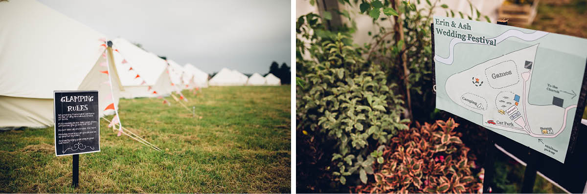 Festival Wedding Photographer - Wedding Festival Map