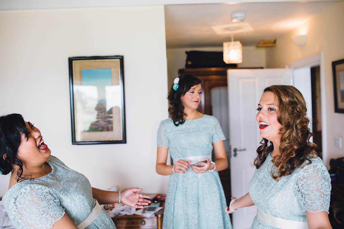Festival Wedding Photographer - Bridesmaids