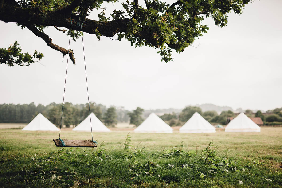Festival Wedding Photographer - House on the Brook