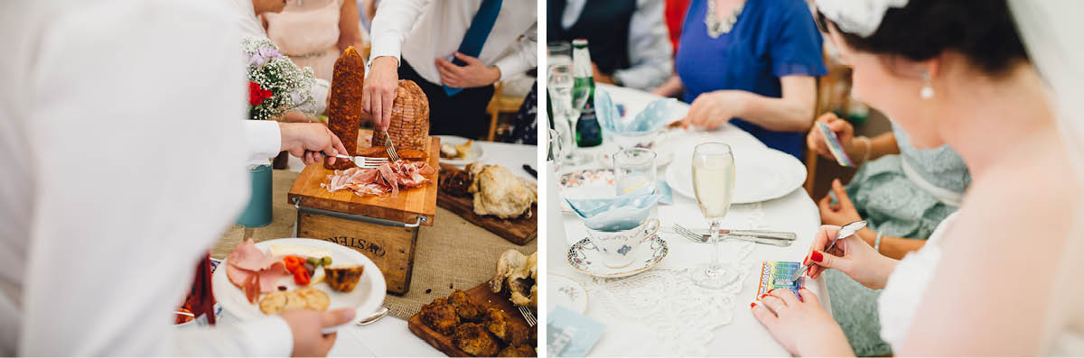 Festival Wedding Photographer - Wedding Breakfast