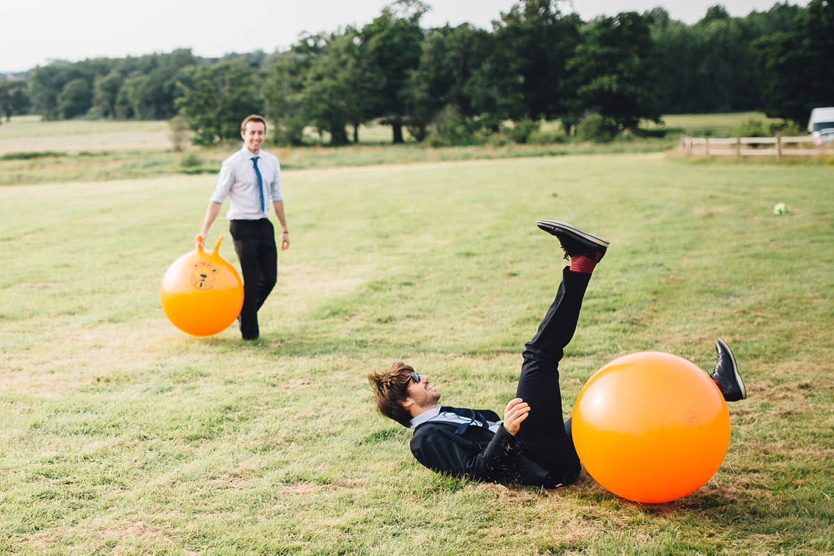 Festival Wedding Photographer - Space Hoppers